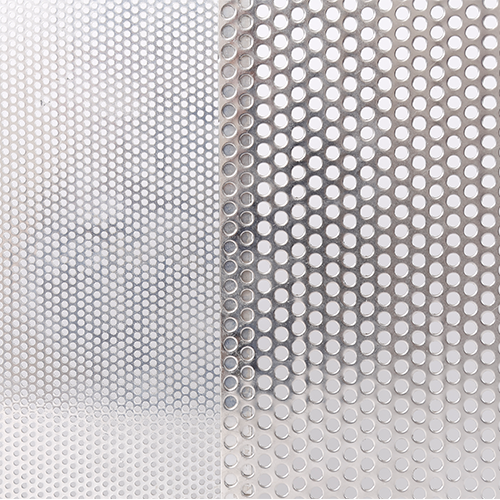 Aluminum Perforated Mesh Security Screen